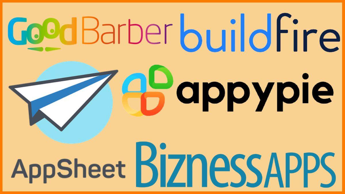 Best No-Code App Builders in 2021| Build App Without Coding