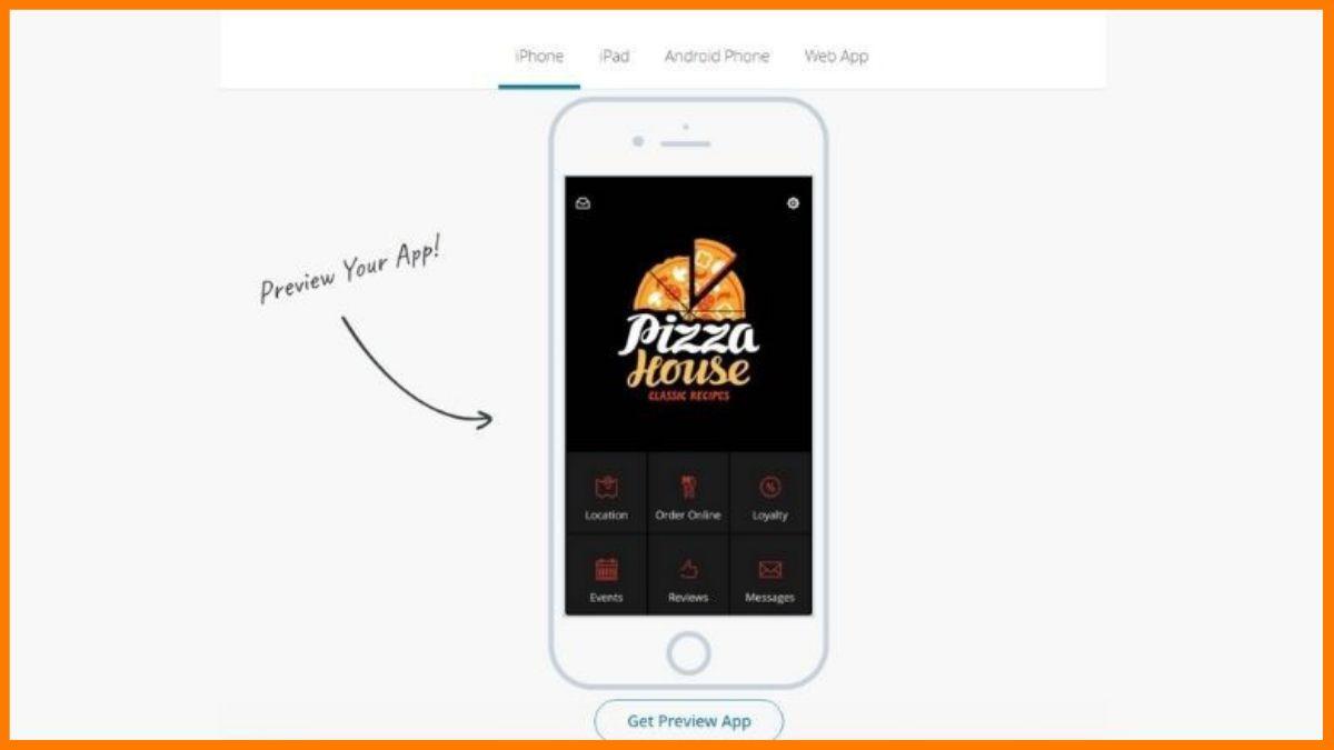 BiznessApps - Preview your app | Best No code app builder