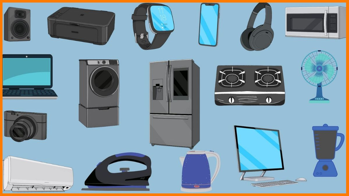 electronic items for electronic store
