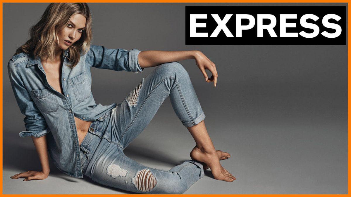 Karlie Kloss Brands- Express   Karlie Kloss endorsed brands