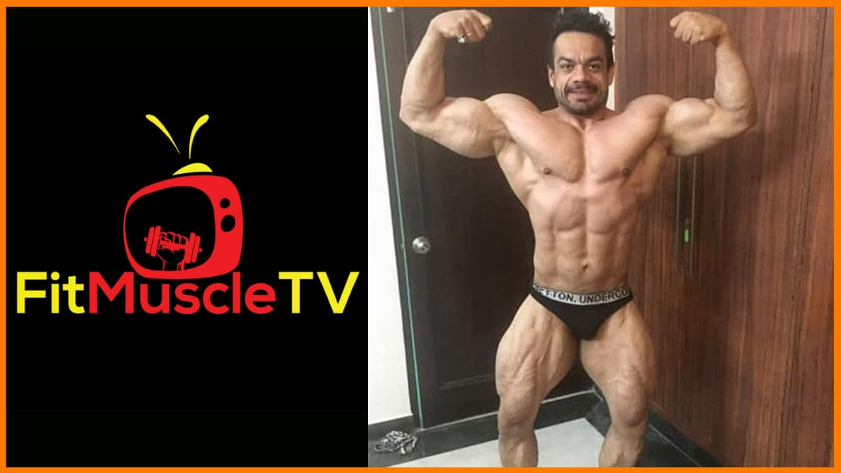 """To carry forward the interest in bodybuilding, Gaurav Taneja started his health and fitness channel named """"Fit Muscle TV""""."""