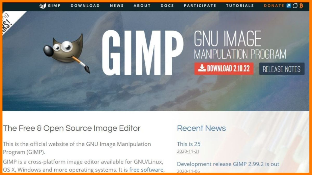 Gimp Image Editor - Background removal tool