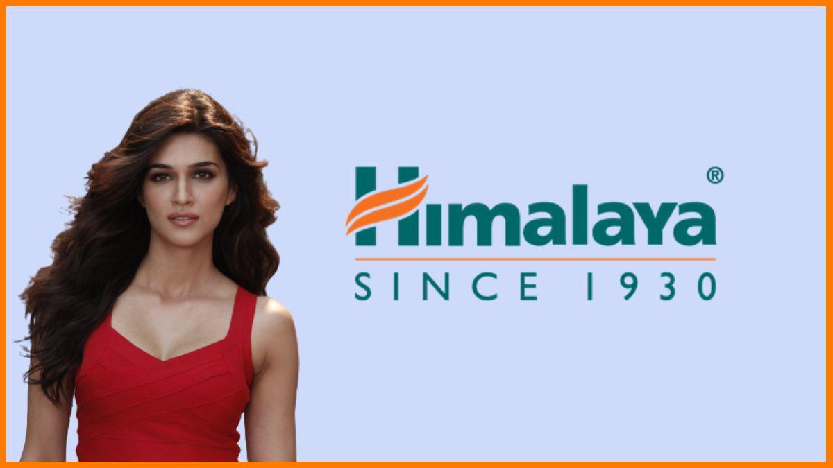 Himalaya - Kriti Sanon Endorsed brands