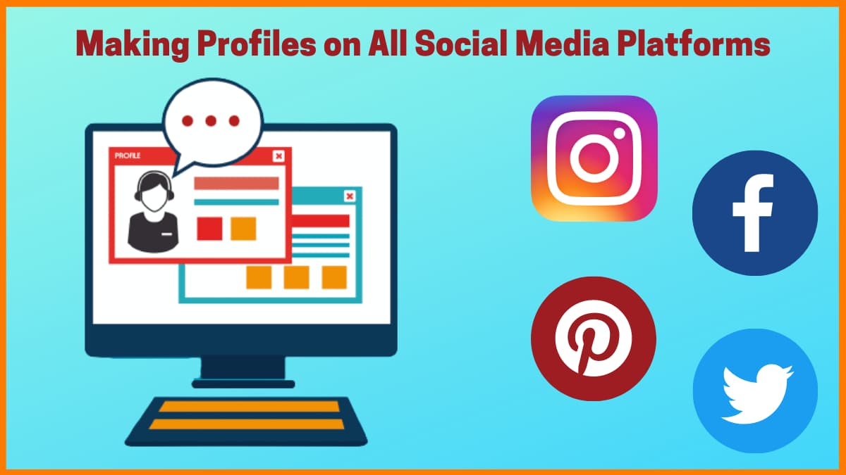Social Media presence serves as a way to communicate with your target audience.