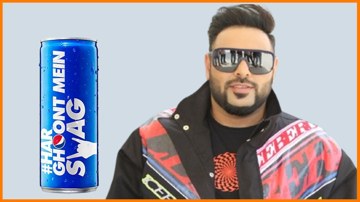 Brands Endorsed by Badshah - Pepsi