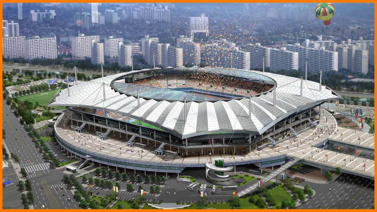 South Korea 2002 World Cup Stadium