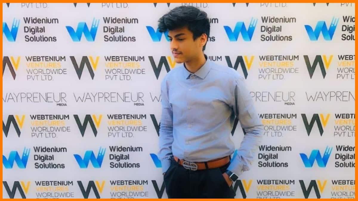 Siddhant Thakran - Founder of Webtenium Digital Solutions