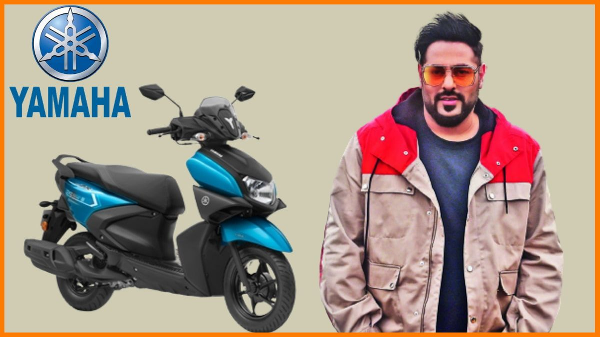 Brands Endorsed by Badshah - Yamaha Ray-ZR scooter